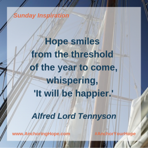 Alfred Lord Tennyson Year to Come Quote