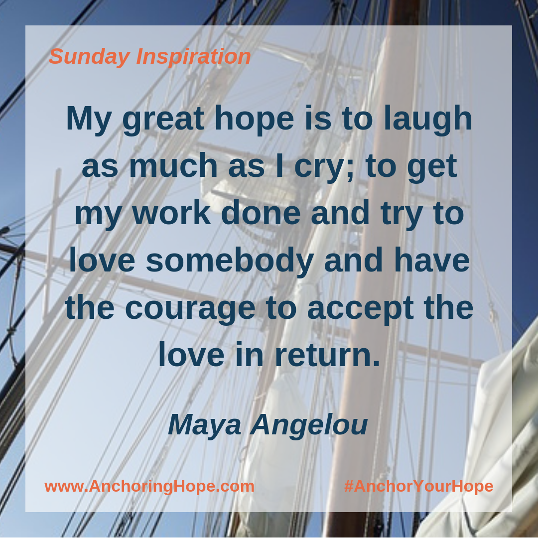 Maya Angelou Hope Quote