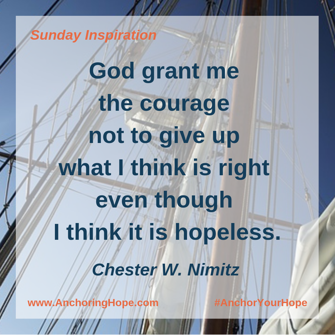 Chester Nimitz Quote