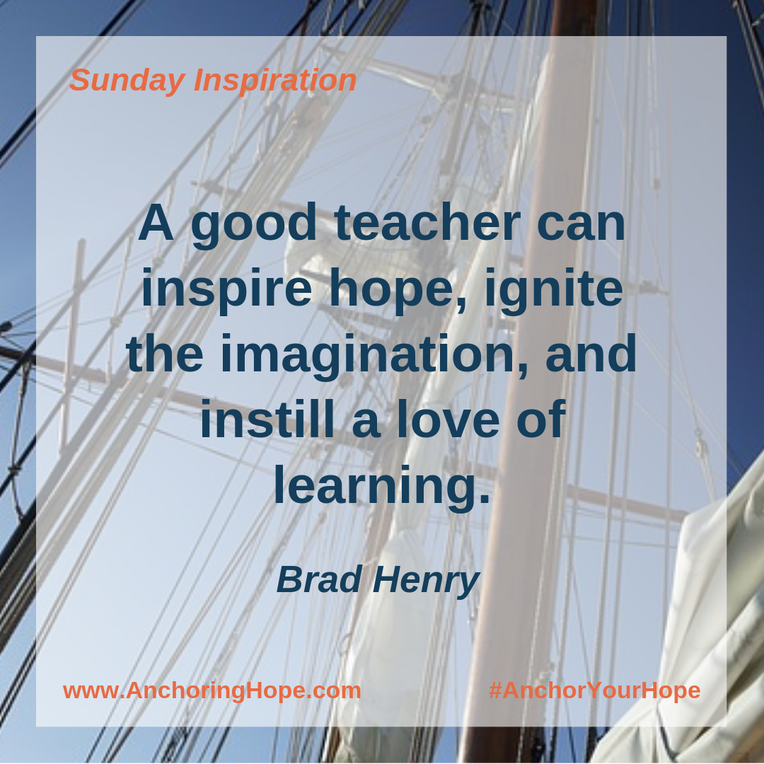 Brad Henry Teacher Quote