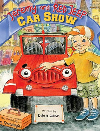 Jeremy and Red Jeep: Car Show Cover